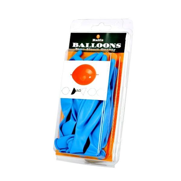 Балони Link-O-Loon, 10 бр. Балони Link-O-Loon, ф 30 cm, 10 бр., син