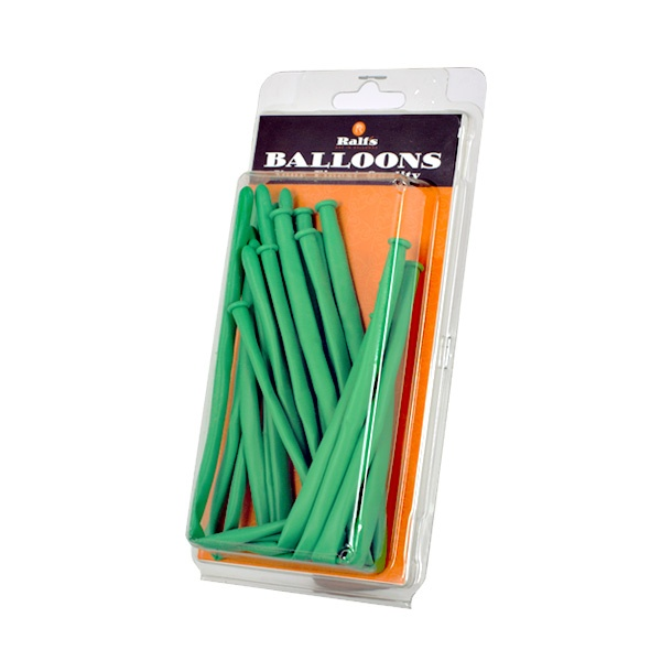 Балони за моделиране, Typ 260, ф 5 x 150 cm, 10 бр. Балони за моделиране, Typ 260, ф 5 x 150 cm, 10 бр., зелен