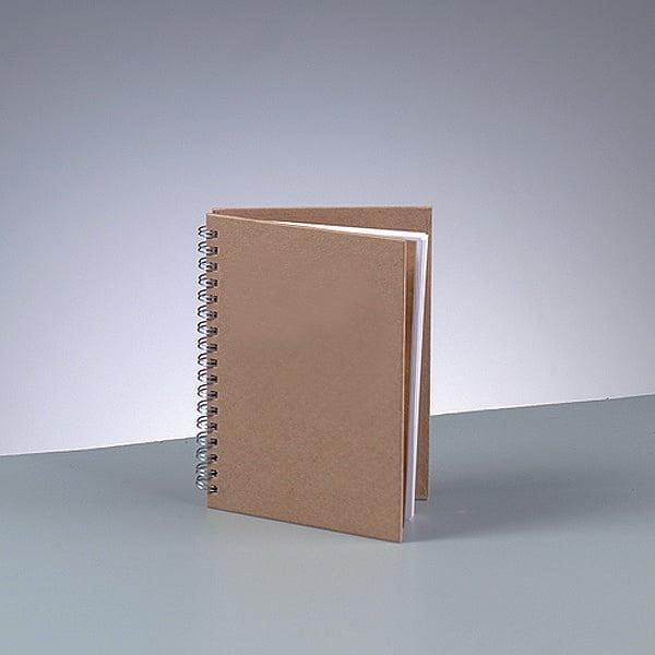 Бележник за скрапбукинг, A 6 / 15,5 × 11 cm, 60 стр., 70 g/m², кафяв