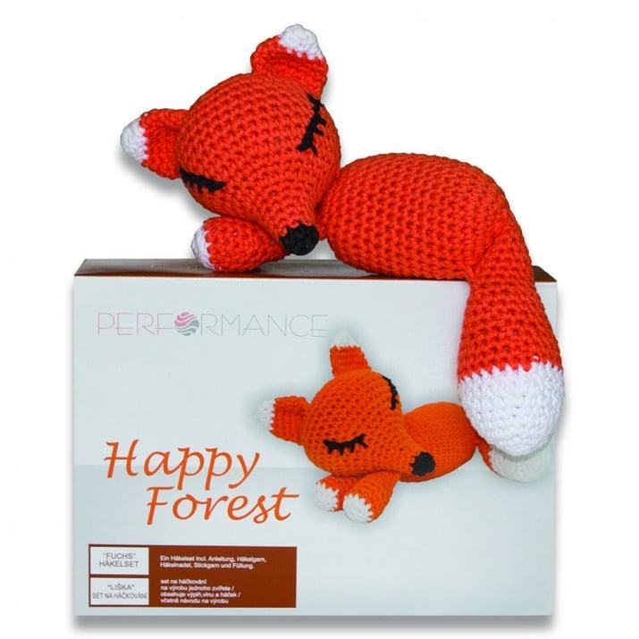 Алуминиево фолио, 20 х 30 см / 0,15 мм, 3 бр., двуцветно - червено и сребристо Креативен комплект за плетене, Лисица