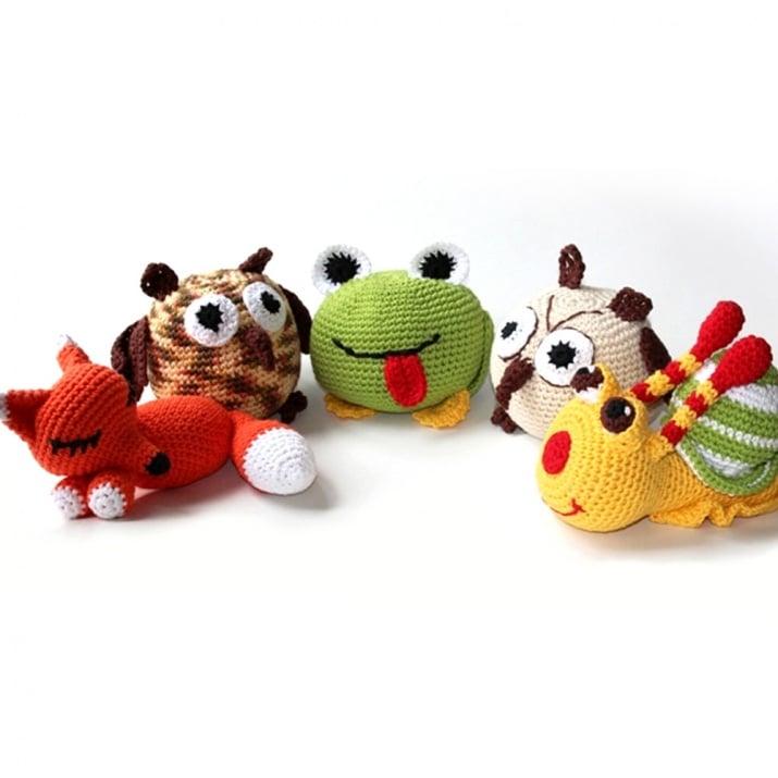 Креативен комплект за плетене, Лисица