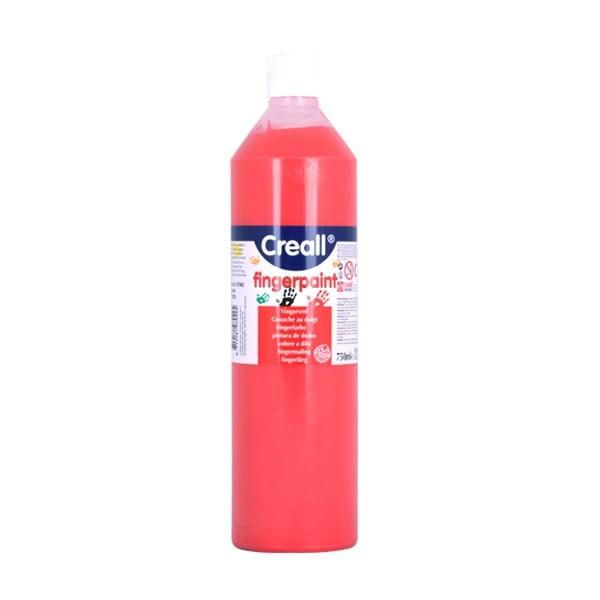 Боички за рисуване с ръце CREALL, 750 ml Боички за рисуване с ръце CREALL, 750 ml, червена