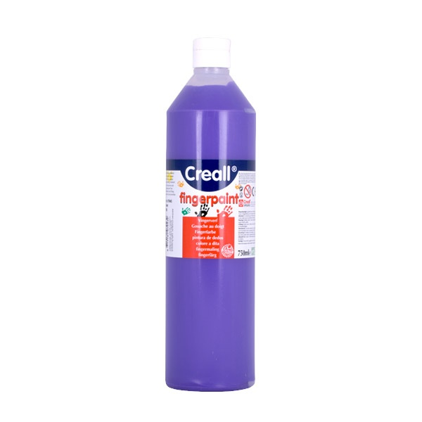 Боички за рисуване с ръце CREALL, 750 ml Боички за рисуване с ръце CREALL, 750 ml, виолетова