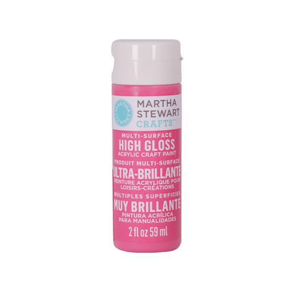 Акрилни бои Martha Stewart, 59 ml, гланц Боя акрилна Martha Stewart, 59 ml, гланц, amaranth