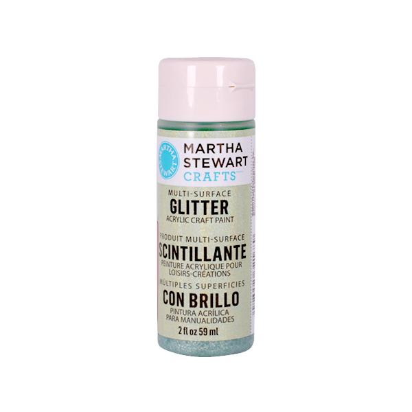 Акрилни бои Martha Stewart, 59 ml, Glitter Боя акрилна Martha Stewart, 59 ml, Glitter, aquam. crystal
