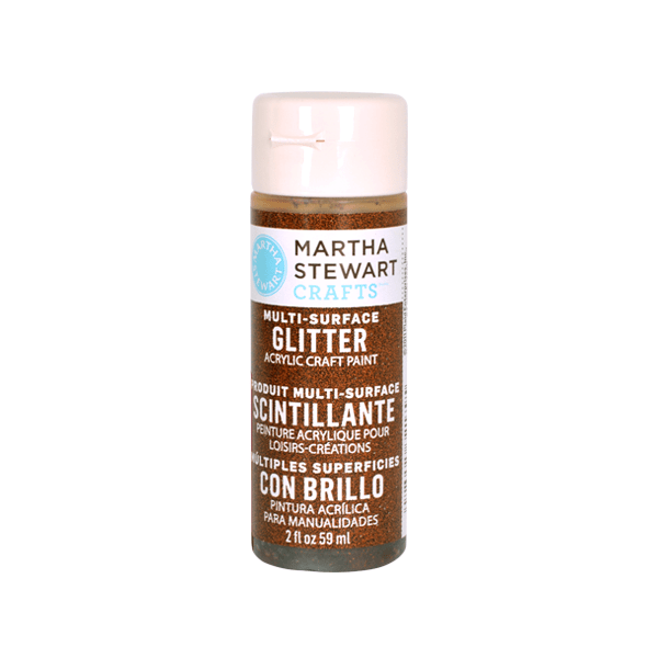 Акрилни бои Martha Stewart, 59 ml, Glitter Боя акрилна Martha Stewart, 59 ml, Glitter, brownstone