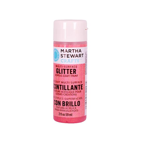 Акрилни бои Martha Stewart, 59 ml, Glitter Боя акрилна Martha Stewart, 59 ml, Glitter, candy apple