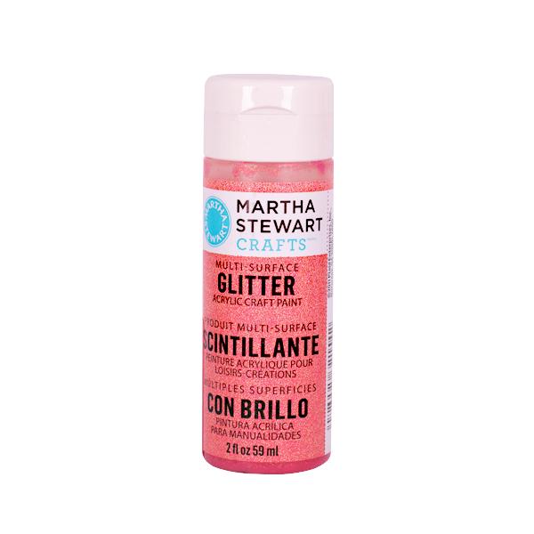 Акрилни бои Martha Stewart, 59 ml, Glitter Боя акрилна Martha Stewart, 59 ml, Glitter, cherry popsicle