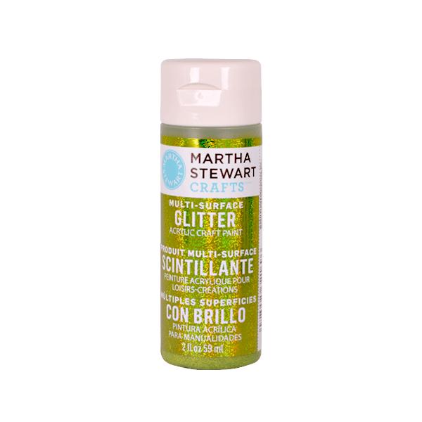 Акрилни бои Martha Stewart, 59 ml, Glitter Боя акрилна Martha Stewart, 59 ml, Glitter, golden beryl