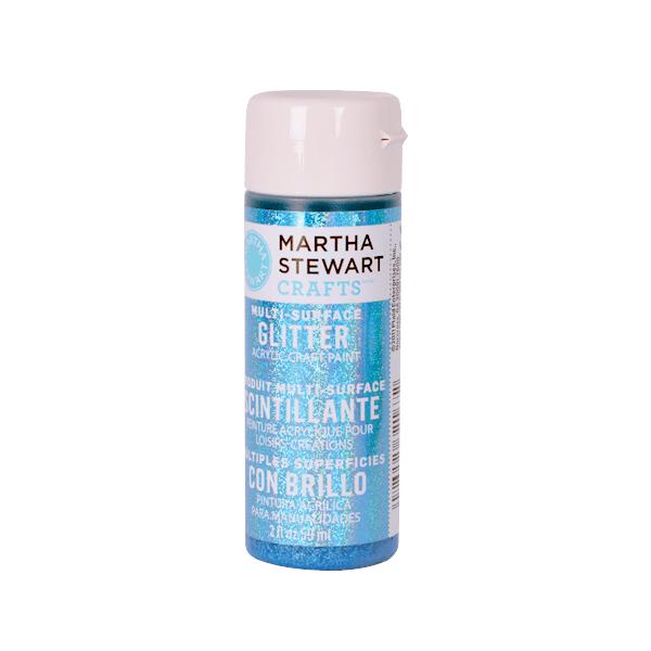 Акрилни бои Martha Stewart, 59 ml, Glitter Боя акрилна Martha Stewart, 59 ml, Glitter, lapis lazuli