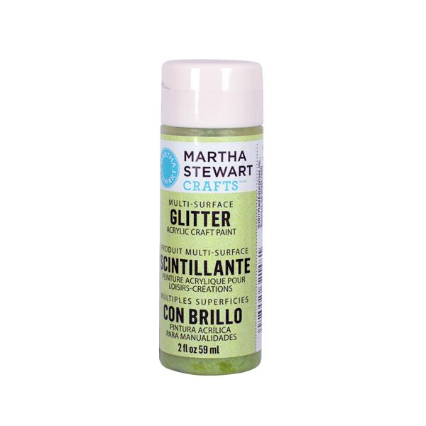 Акрилни бои Martha Stewart, 59 ml, Glitter Боя акрилна Martha Stewart, 59 ml, Glitter, limeade