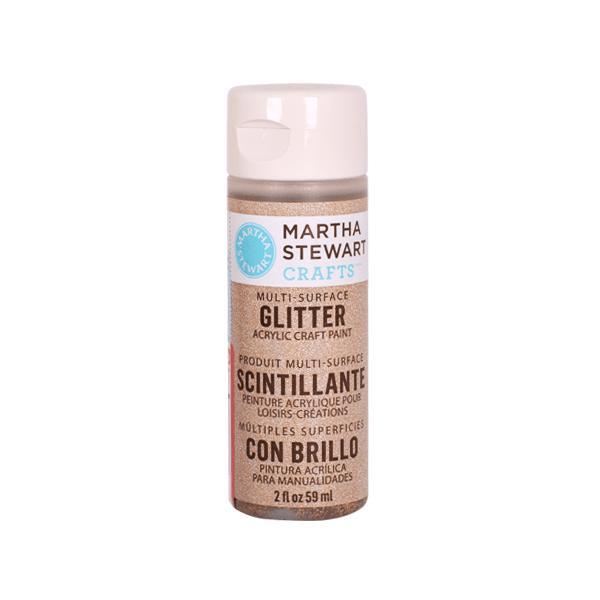 Акрилни бои Martha Stewart, 59 ml, Glitter Боя акрилна Martha Stewart, 59 ml, Glitter, smoky quartz