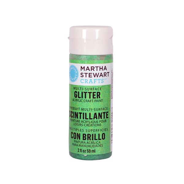 Акрилни бои Martha Stewart, 59 ml, Glitter Боя акрилна Martha Stewart, 59 ml, Glitter, sour apple