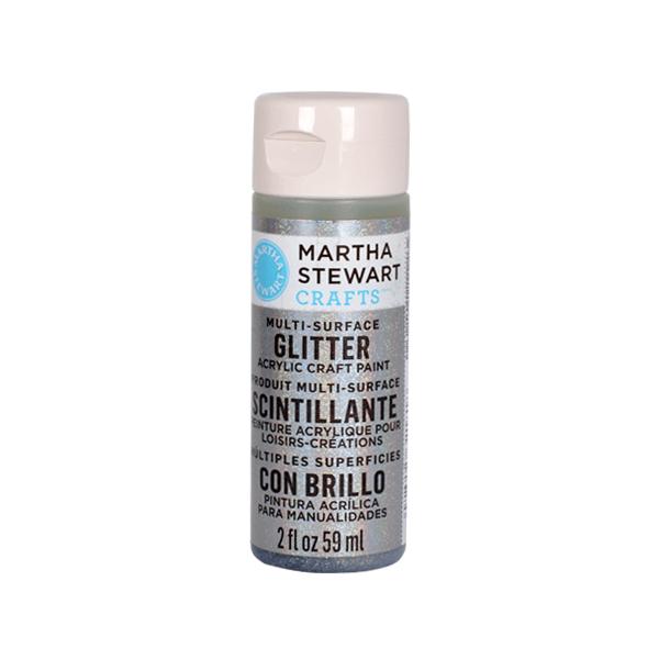 Акрилни бои Martha Stewart, 59 ml, Glitter Боя акрилна Martha Stewart, 59 ml, Glitter, sterling
