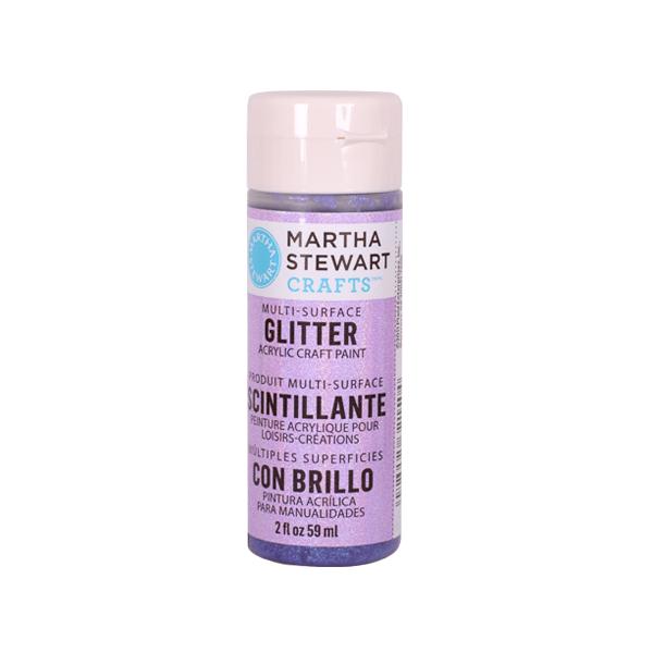 Акрилни бои Martha Stewart, 59 ml, Glitter Боя акрилна Martha Stewart, 59 ml, Glitter, sugar plum