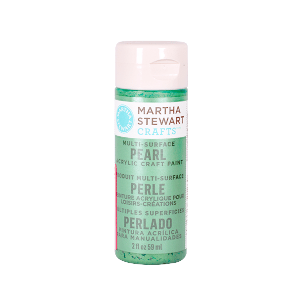 Акрилни бои Martha Stewart, 59 ml, Metallic & Pear Боя акрилна Martha Stewart, 59 ml, Metallic & Pear, mint chip