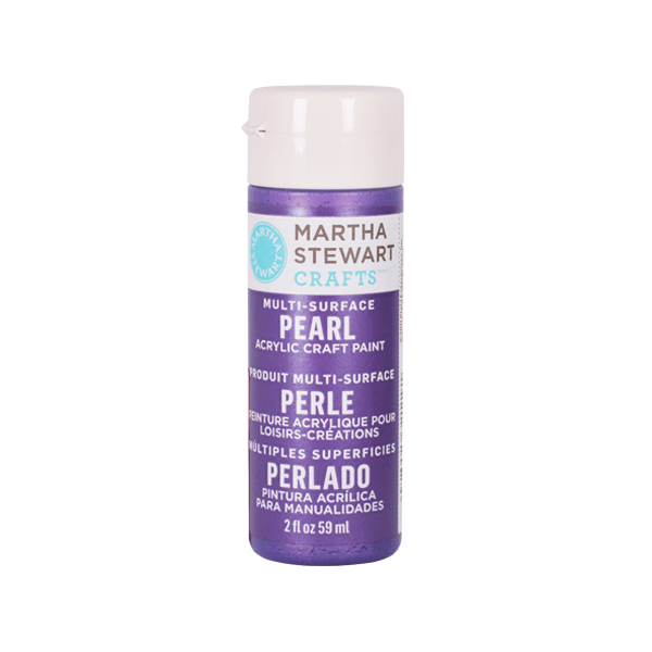 Акрилни бои Martha Stewart, 59 ml, Metallic & Pear Боя акрилна Martha Stewart, 59 ml, Metallic & Pear, purple martin