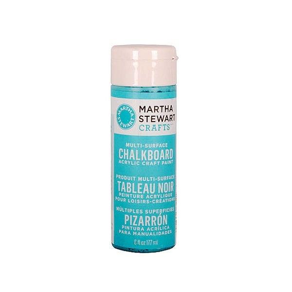 Акрилни бои Martha Stewart, Chalkboard, 177 ml Боя акрилна Martha Stewart, Chalkboard, 177 ml, синя