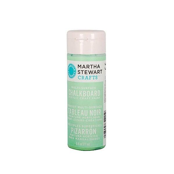 Акрилни бои Martha Stewart, Chalkboard, 177 ml Боя акрилна Martha Stewart, Chalkboard, 177 ml, зелена