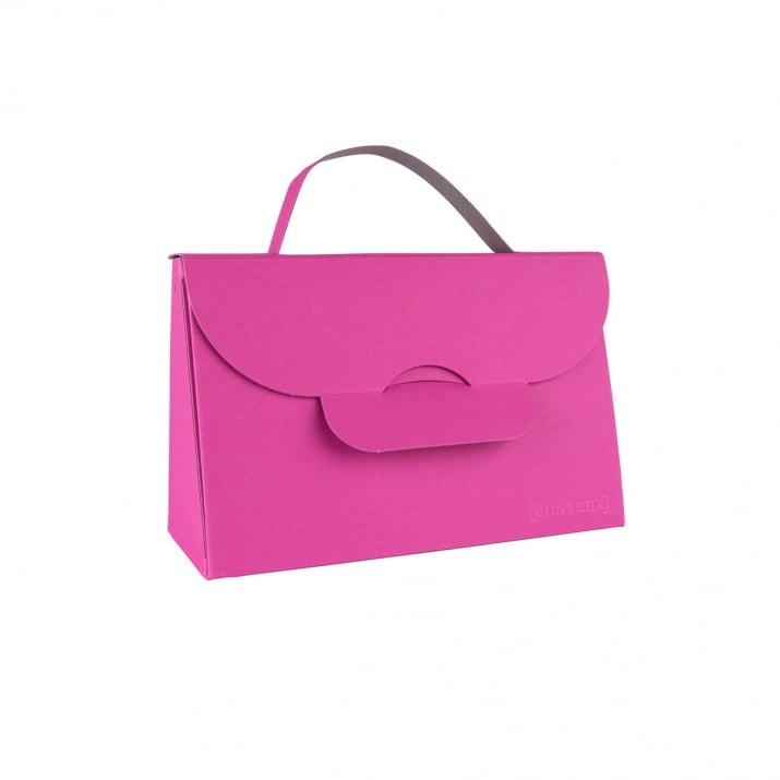 Чанта с една дръжка, 204 x 87 x 32 mm, 565g /m2 Чанта с една дръжка, 204 x 87 x 32 mm, 565g /m2, Magenta