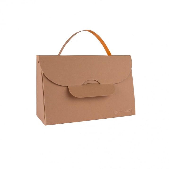 Чанта с една дръжка, 204 x 87 x 32 mm, 565g /m2 Чанта с една дръжка, 204 x 87 x 32 mm, 565g /m2, Tobacco