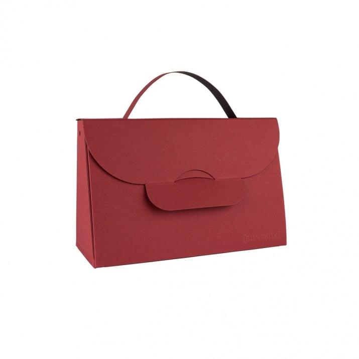 Чанта с една дръжка, 204 x 87 x 32 mm, 565g /m2 Чанта с една дръжка, 204 x 87 x 32 mm, 565g /m2, Bordeaux