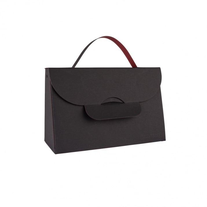 Чанта с една дръжка, 204 x 87 x 32 mm, 565g /m2 Чанта с една дръжка, 204 x 87 x 32 mm, 565g /m2, Graphite