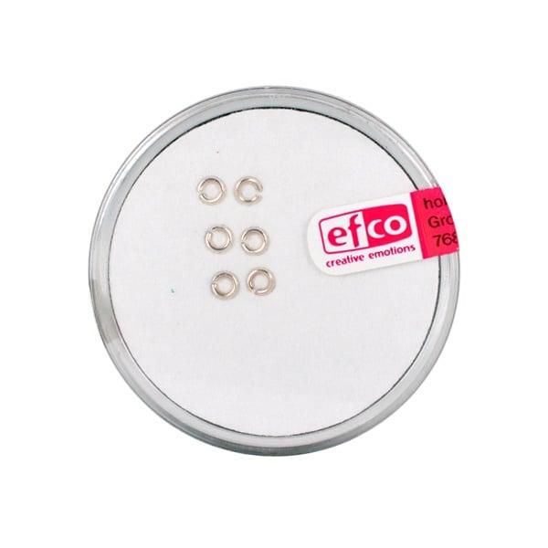Част за бижу, единична халка – кръг, 3 mm, 6 бр., Silver 925