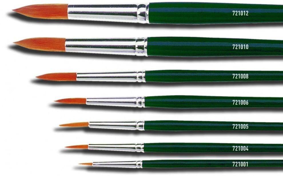 Четка кръгла Hobby Line Basic, Nylon Четка кръгла Hobby Line Basic, Nylon, Gr.12