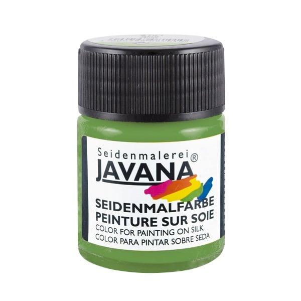 Текстилна боя за коприна SILK JAVANA, 50ml Текстилна боя за коприна SILK JAVANA, 50ml, маслинено зелен