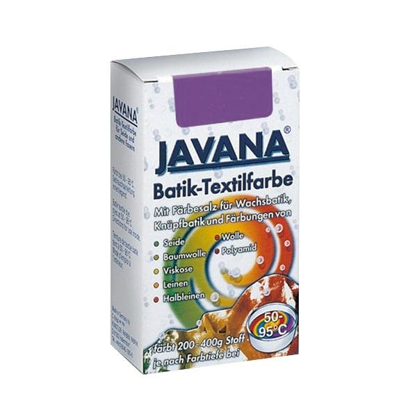 Текстилна боя за батик, JAVANA, 75g Текстилна боя за батик, JAVANA, 75g, лавандулова