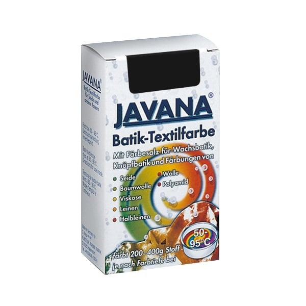 Текстилна боя за батик, JAVANA, 75g Текстилна боя за батик, JAVANA, 75g, черна