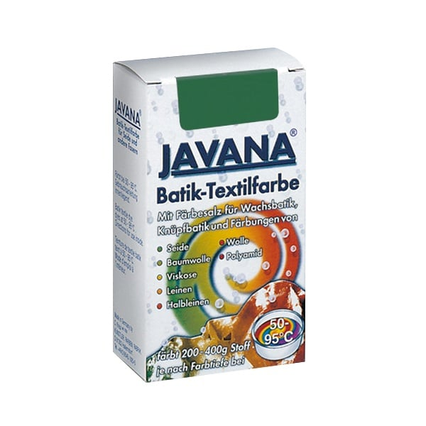 Текстилна боя за батик, JAVANA, 75g Текстилна боя за батик, JAVANA, 75g, маслиново зелена
