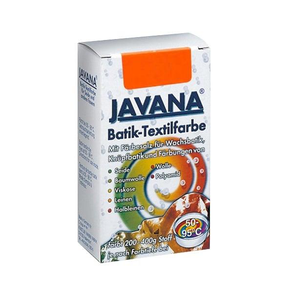 Текстилна боя за батик, JAVANA, 75g Текстилна боя за батик, JAVANA, 75g, оранжева
