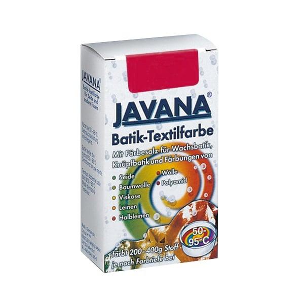 Текстилна боя за батик, JAVANA, 75g Текстилна боя за батик, JAVANA, 75g, тъмно червена