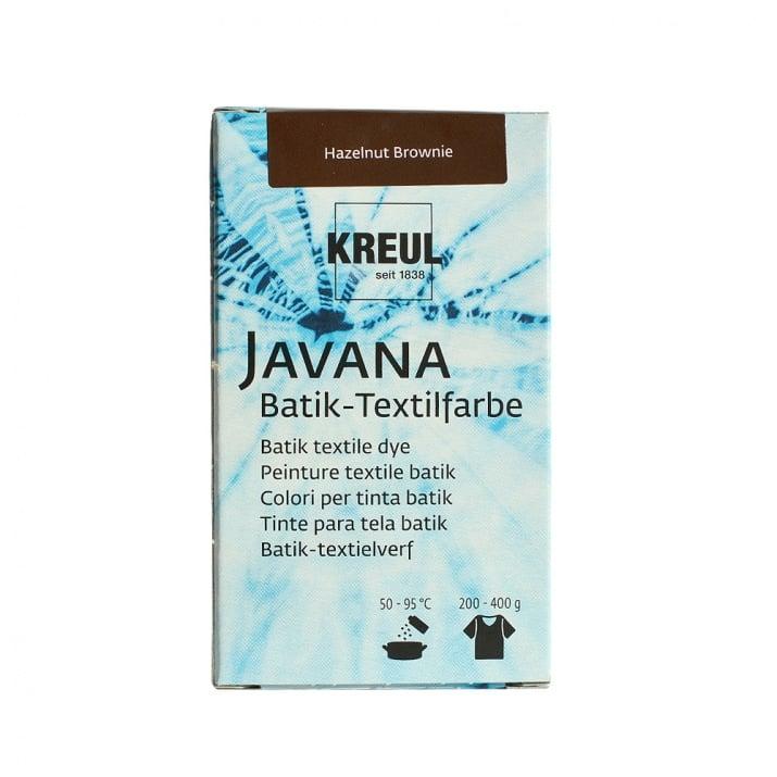 Текстилна боя за батик, JAVANA, 75g Текстилна боя за батик, JAVANA, 70 g, тъмно кафява