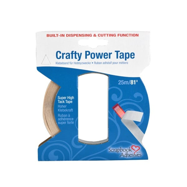 Crafy Power Tap двустранно лепяща лента, стандартна, 25m