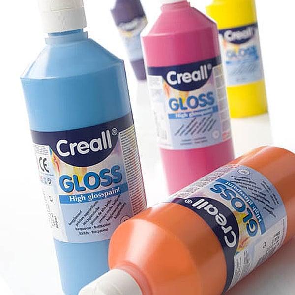 Гланцови бои CREALL Gloss, 500 ml