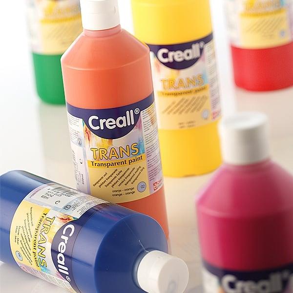Прозрачни водни бои CREALL TRANS, 500 ml