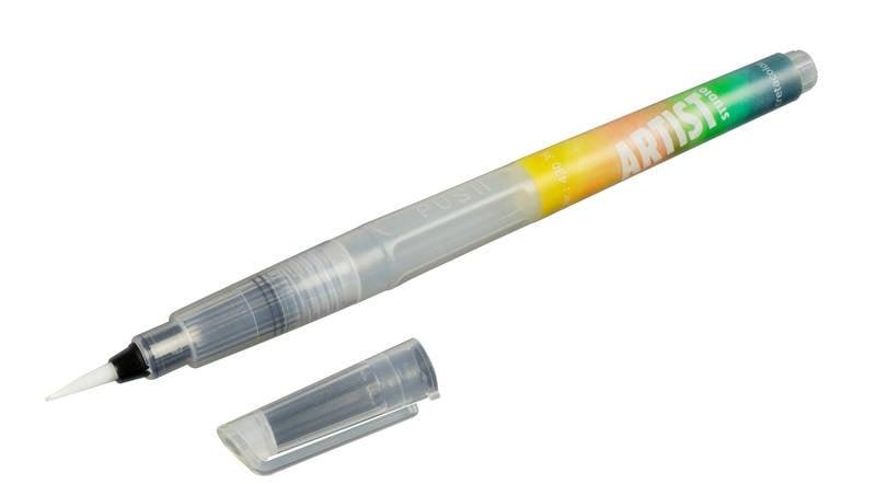 Комплект четки с резервоар Cretacolor, Aqua2Go, 3 бр.