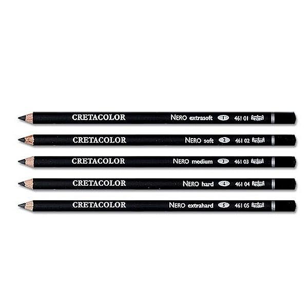 Пастелен черен молив CretaColor, Nero Drawing
