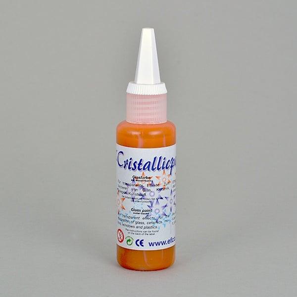 Cristallicpaint, бои за стъкло, 50 ml   Cristallicpaint, 50 ml,  оранжева