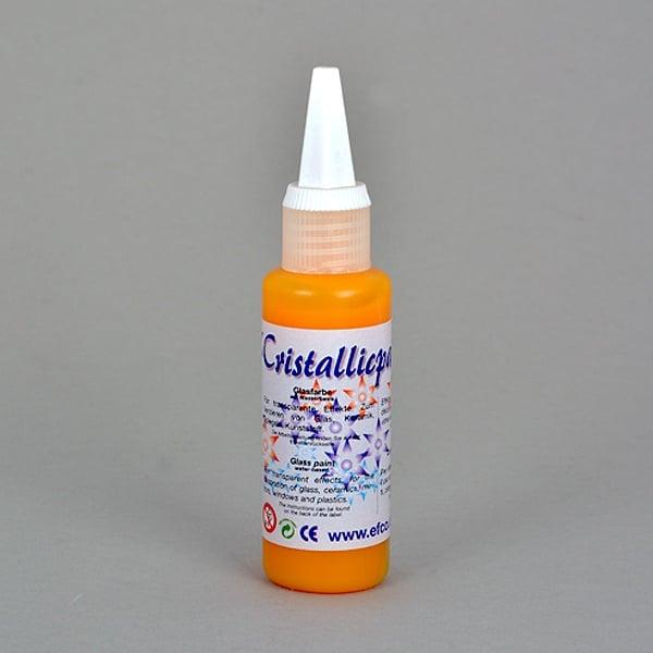 Cristallicpaint, бои за стъкло, 50 ml   Cristallicpaint, 50 ml,  слънчево жълта