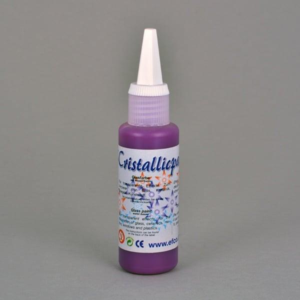 Cristallicpaint, бои за стъкло, 50 ml   Cristallicpaint, 50 ml, виолетова