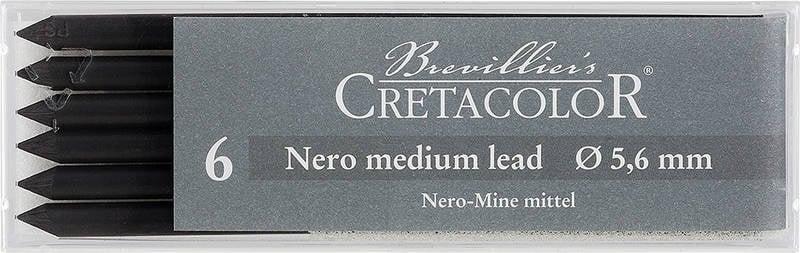 Пастелна сърцевина CretaColor, Nero Drawing, medium