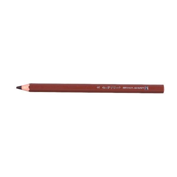 Цветни моливи CREALL Maxi, лакирани Цветен молив CREALL Maxi, лакиран, кафяв