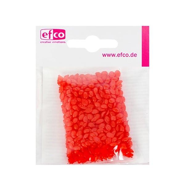 Цветни восъчни гранули, 10 g, червено