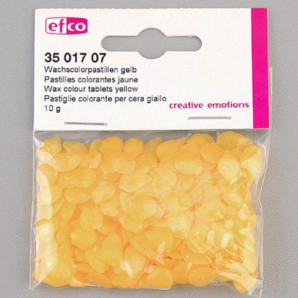 Цветни восъчни гранули, 10 g, жълт