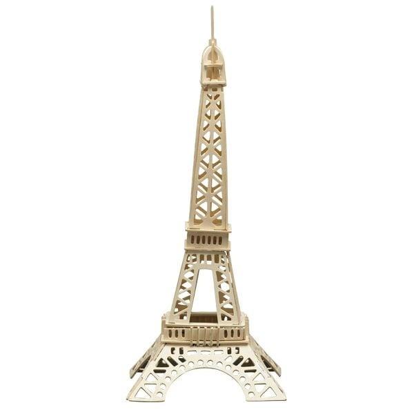 Алуминиево фолио, 20 х 30 см / 0,15 мм, 3 бр., двуцветно - червено и сребристо Дървен комплект за сглобяване, Айфеловата кула