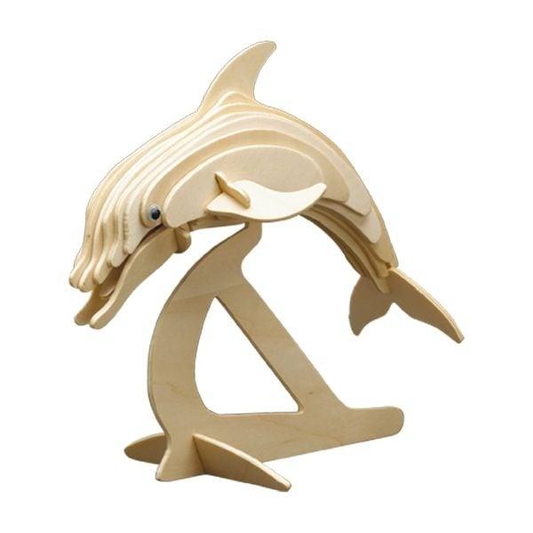 Дървен комплект за сглобяване, Делфин